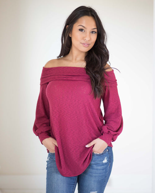Asher Off The Shoulder Top
