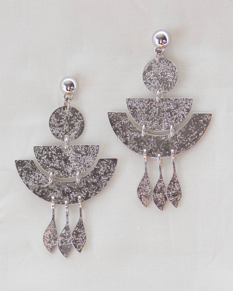 Silver Boho Earrings | Rose & Remington