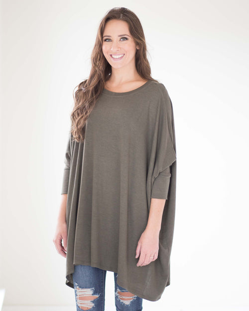 Emerson Draped Tunic