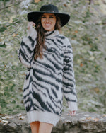 Ultra Soft Zebra Print Dress