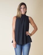 Caroline Ribbon Tie Top