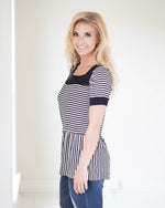 Addison Striped Top | Rose & Remington