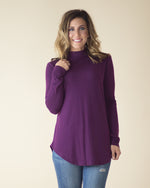 Madi Mock Neck Long Sleeve Top