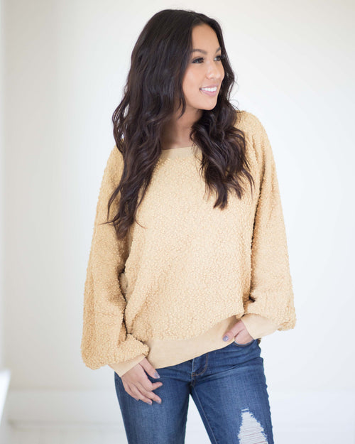 Cora Crew Neck Pullover | Rose & Remington