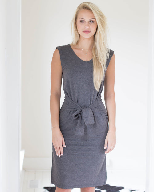 Jenn Waist Wrap Dress | Rose & Remington