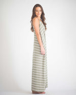 Francis Pocketed Maxi Dress