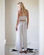 Parker Tie Front Jumpsuit | Rose & Remington