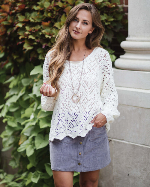 Presley Knit Sweater | Rose & Remington