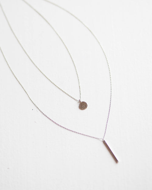 Simply Chic Two Layer Necklace | Rose & Remington