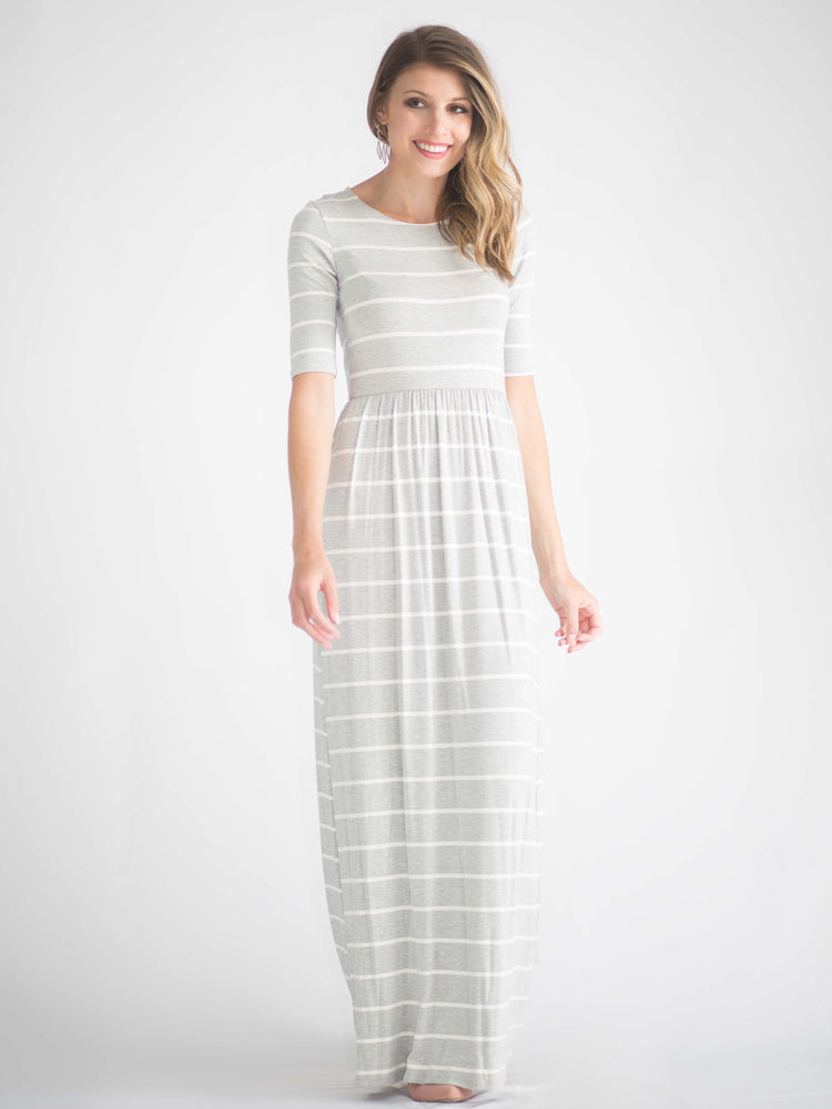 Celie Striped Maxi Dress
