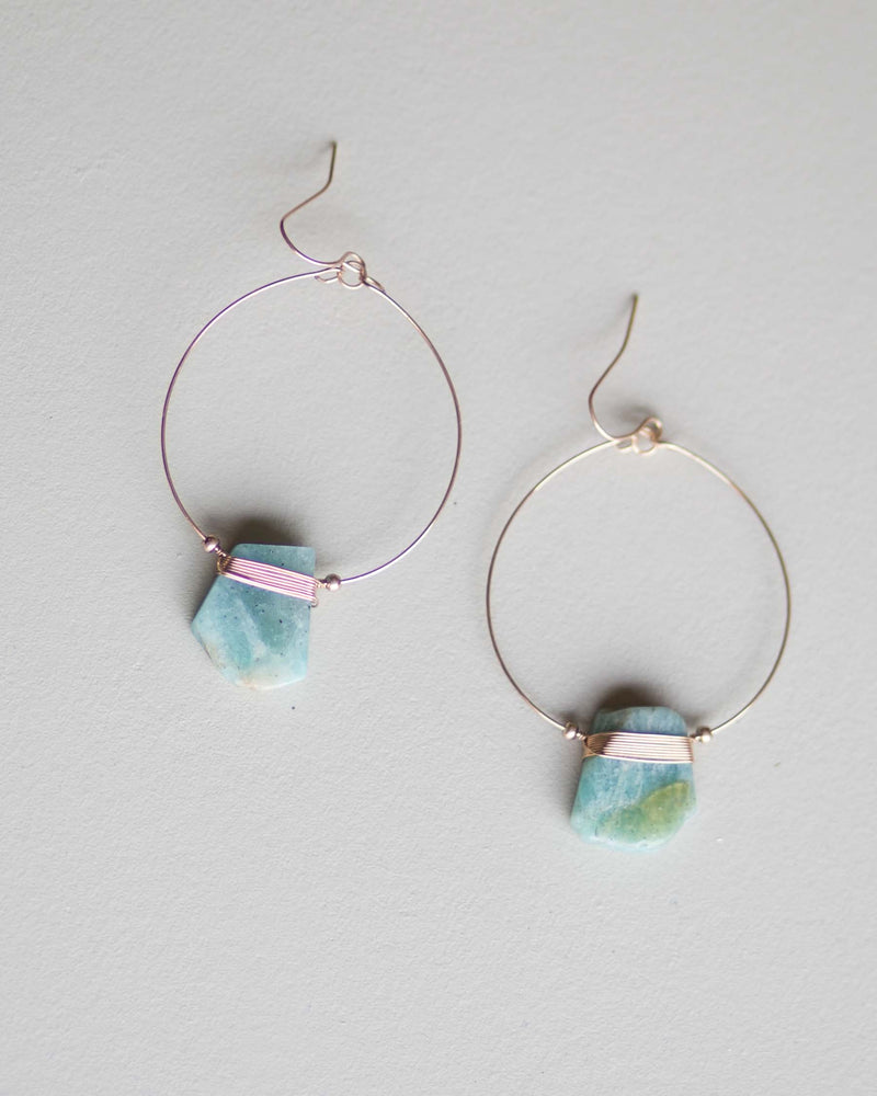Earth Stone Earrings