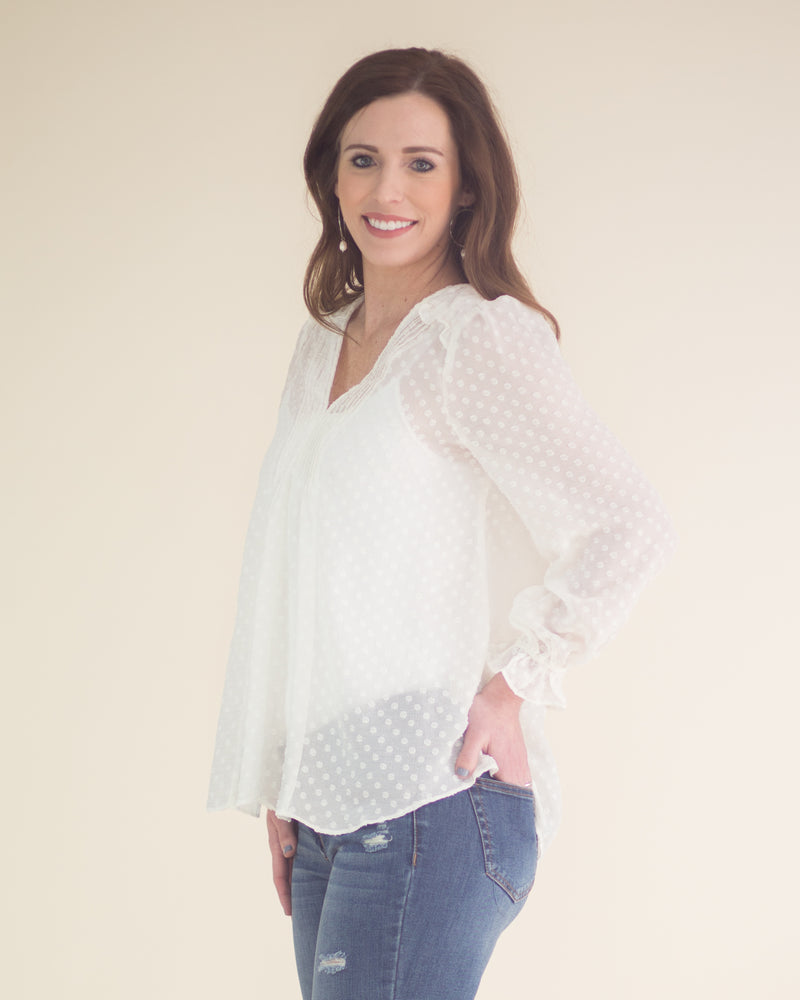 Jade Long Sleeve Blouse