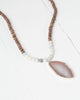 Beaded Stone Pendant Necklace | Rose & Remington
