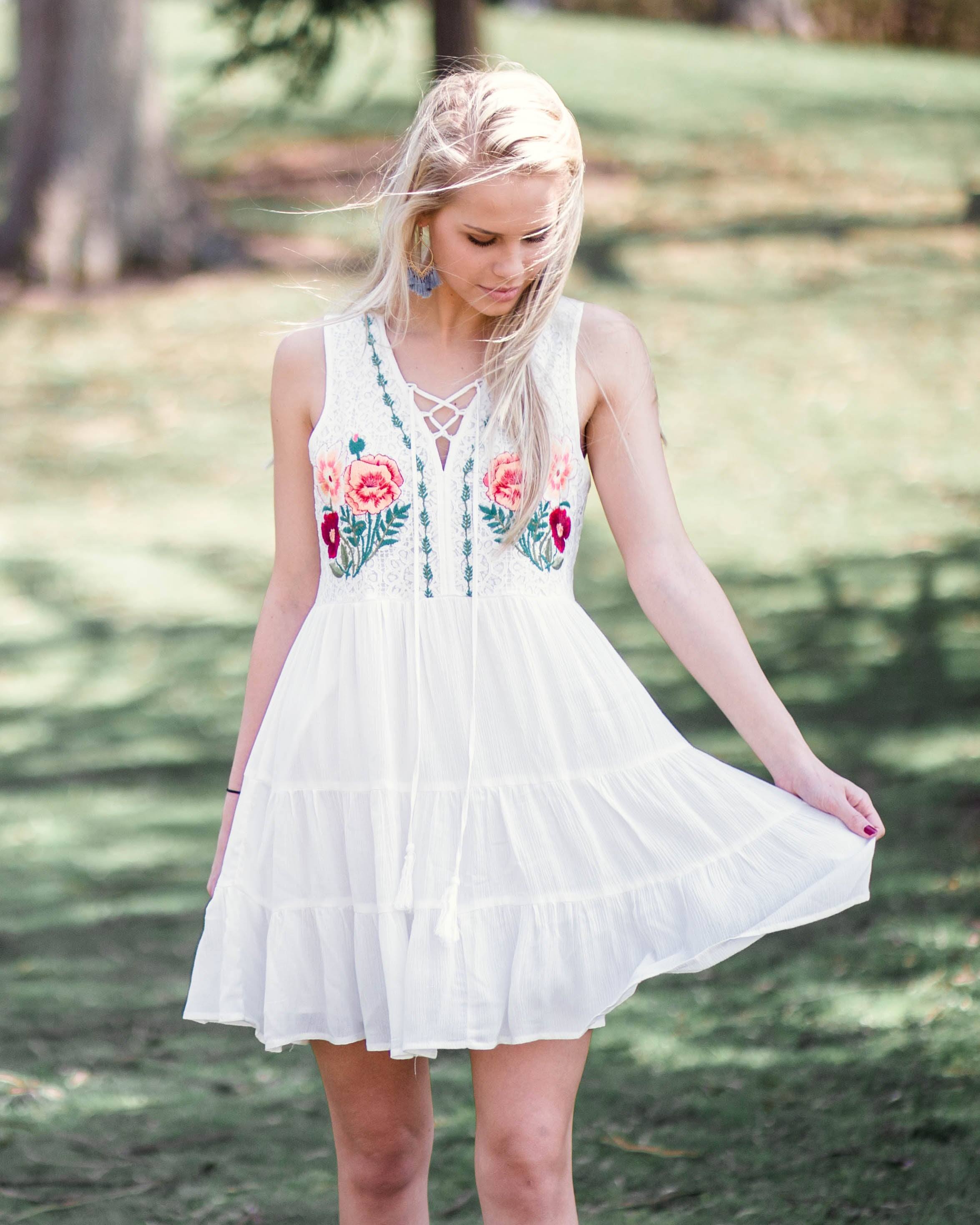 Josie Embroidered Dress | Rose & Remington