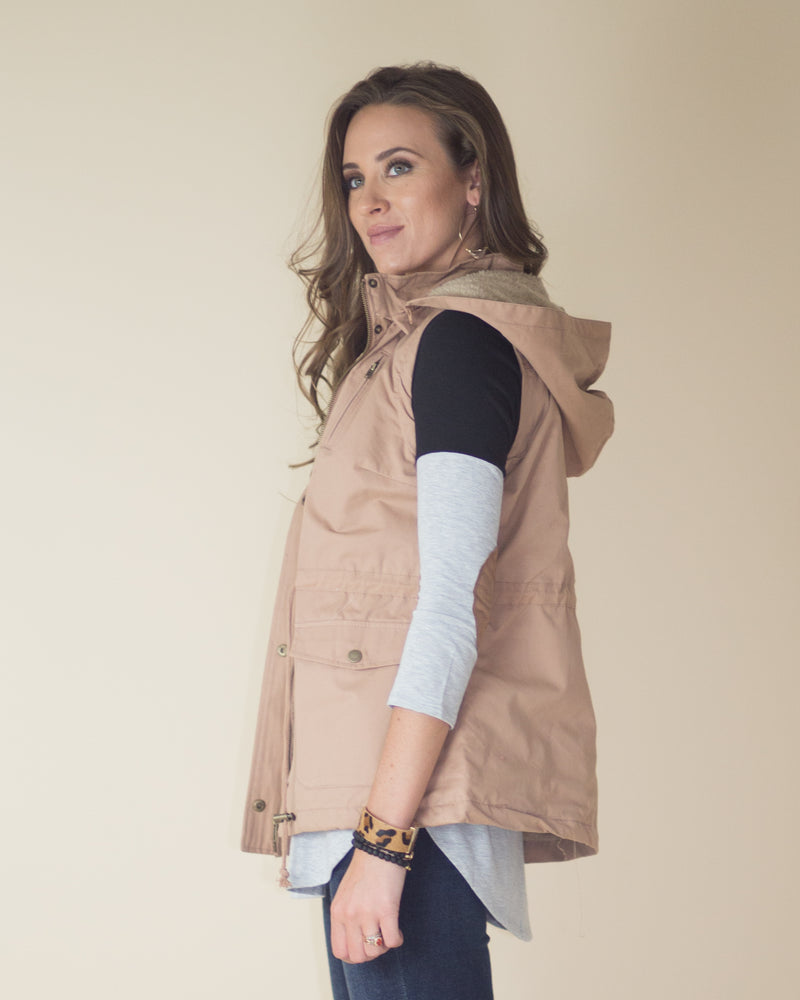 Danielle Snap Button Vest