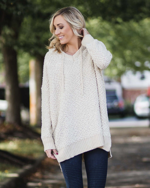 Josie Cozy Hooded Tunic