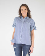Chambray Pocket Top