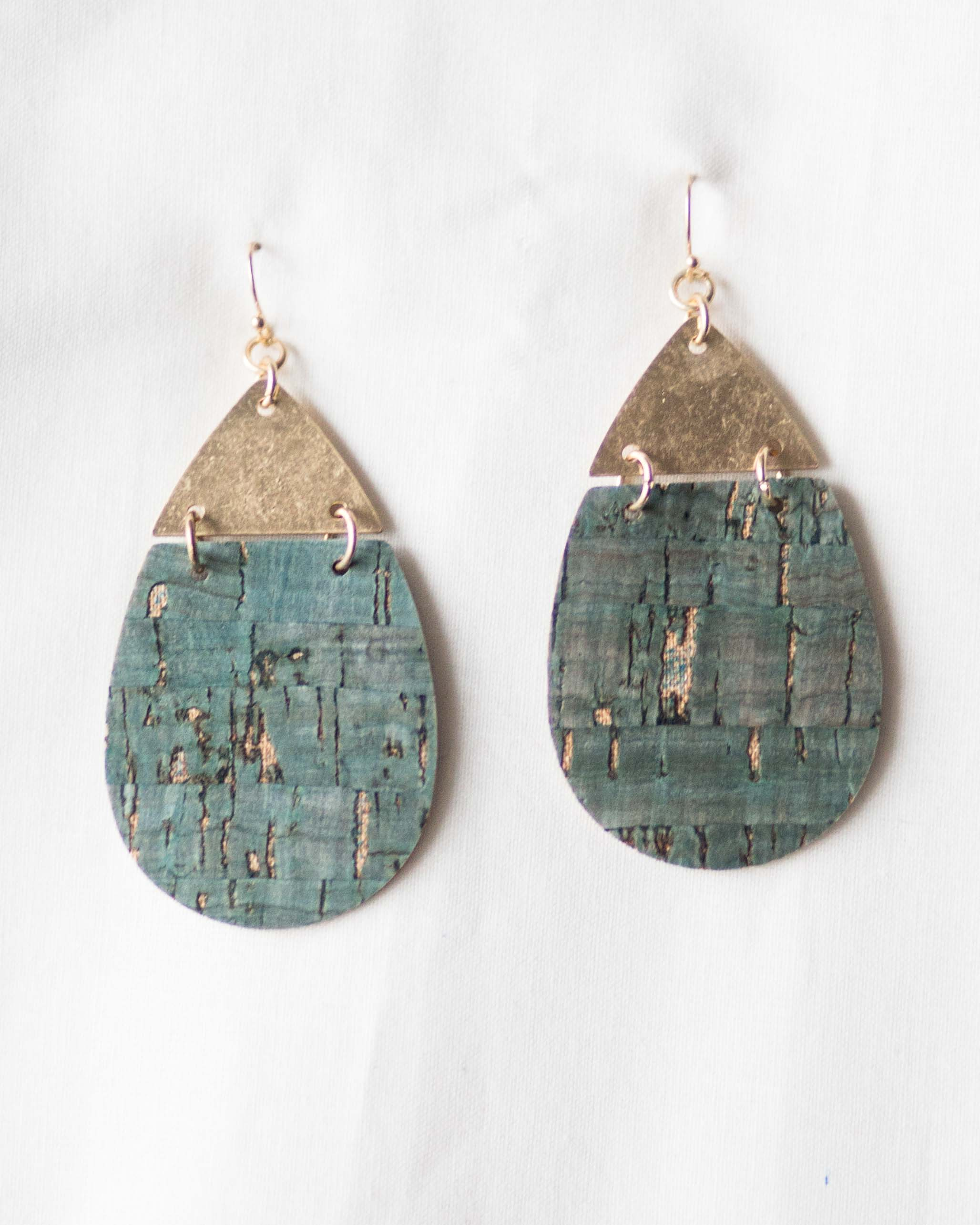 Tessa Wooden Earrings