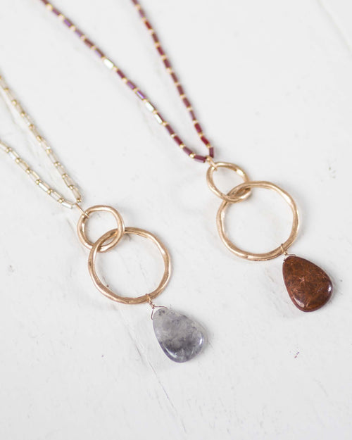 Sierra Stone Statement Necklace | Rose & Remington