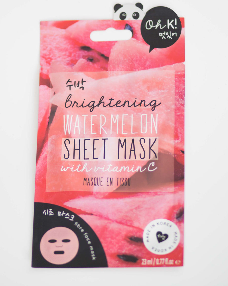 Brightening Watermelon Sheet Mask