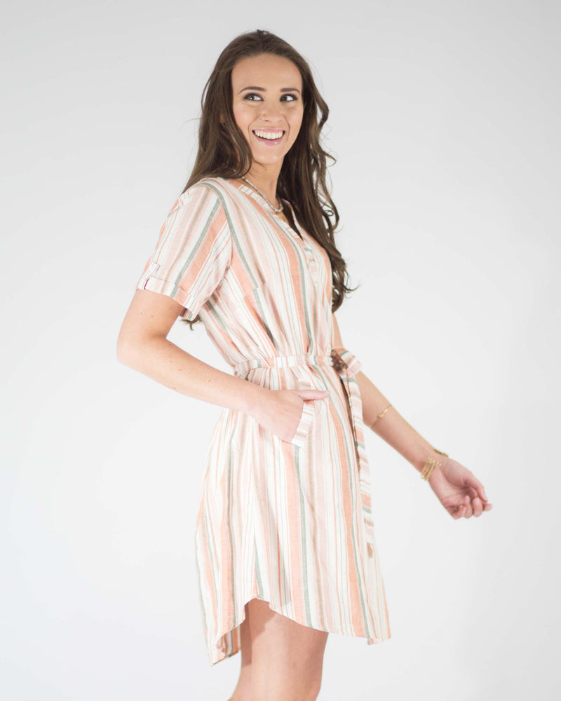 Emerson Pocketed Shirt Dress