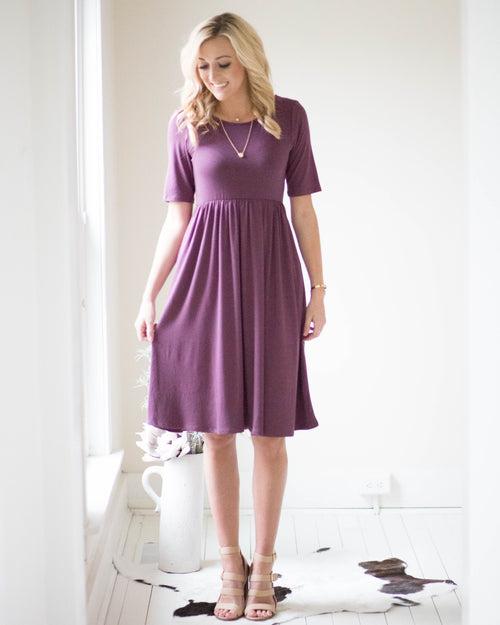 Midi Pocketed Dress