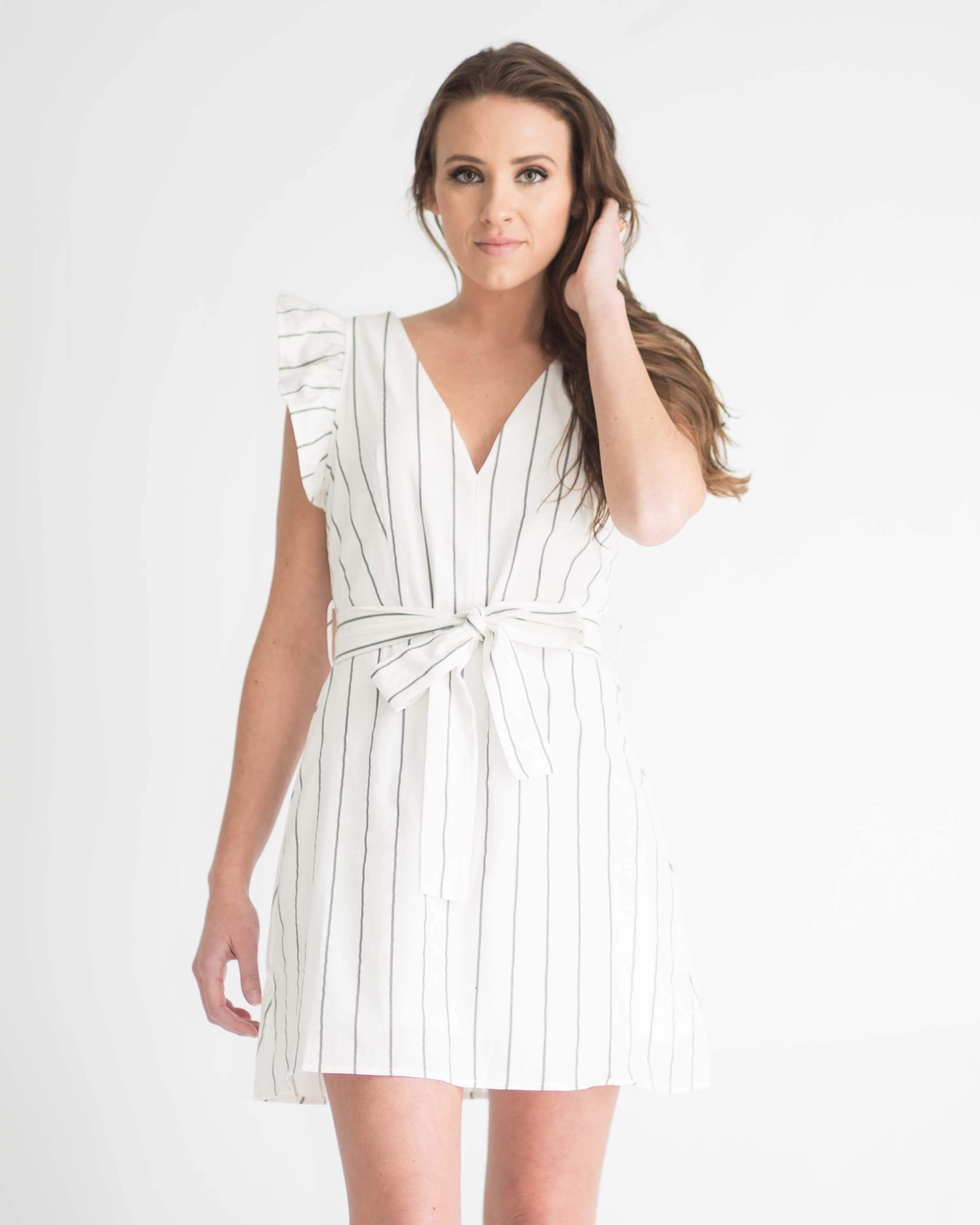 Annabelle Striped Dress