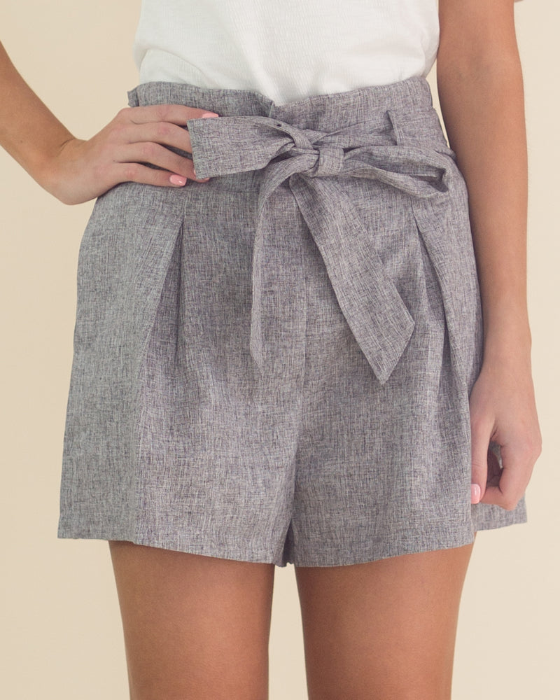 Blakely Tie Front Shorts