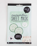 Cucumber Sheet Face Mask