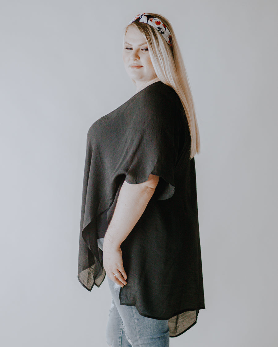 Sheer Perfection Tapered Tunic