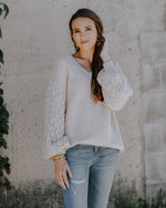 Laura Button Back Sweater