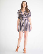 Leslie Striped Kimono Dress