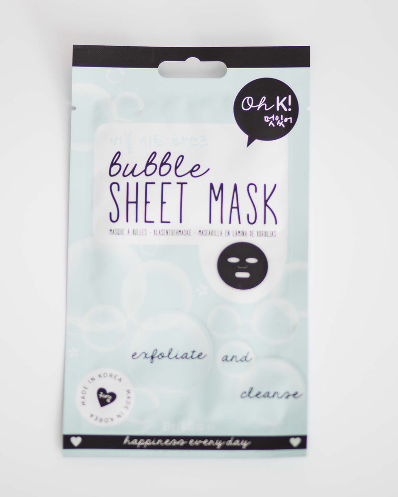 Bubble Sheet Mask
