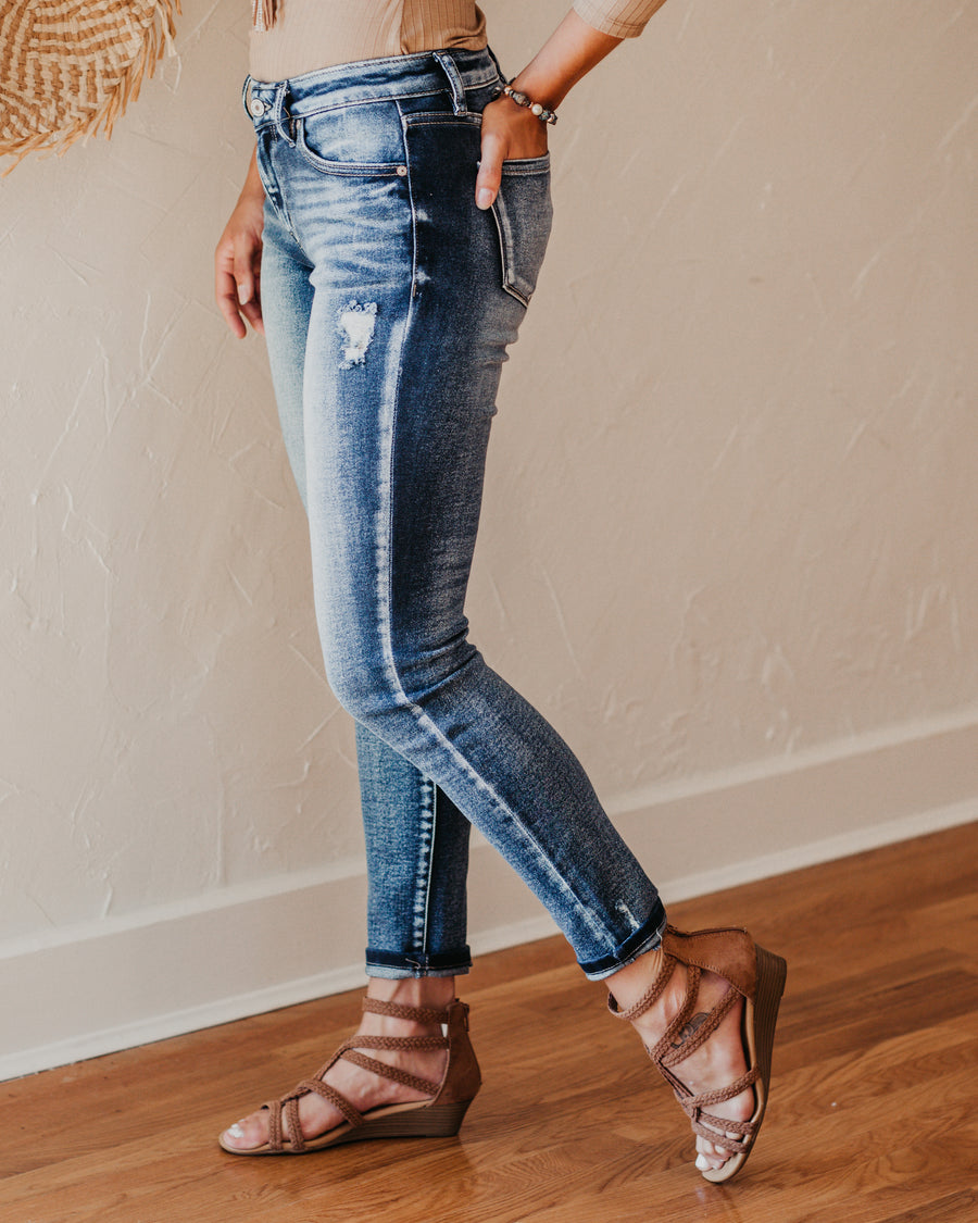 Jessie Lightly Distressed Jeans