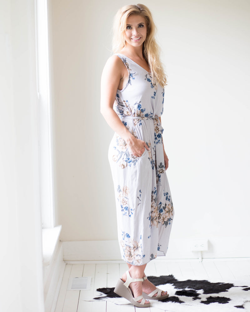 Harper Floral Jumpsuit | Rose & Remington