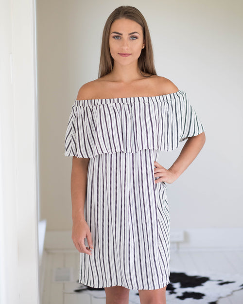 Opal Off-The-Shoulder Dress | Rose & Remington