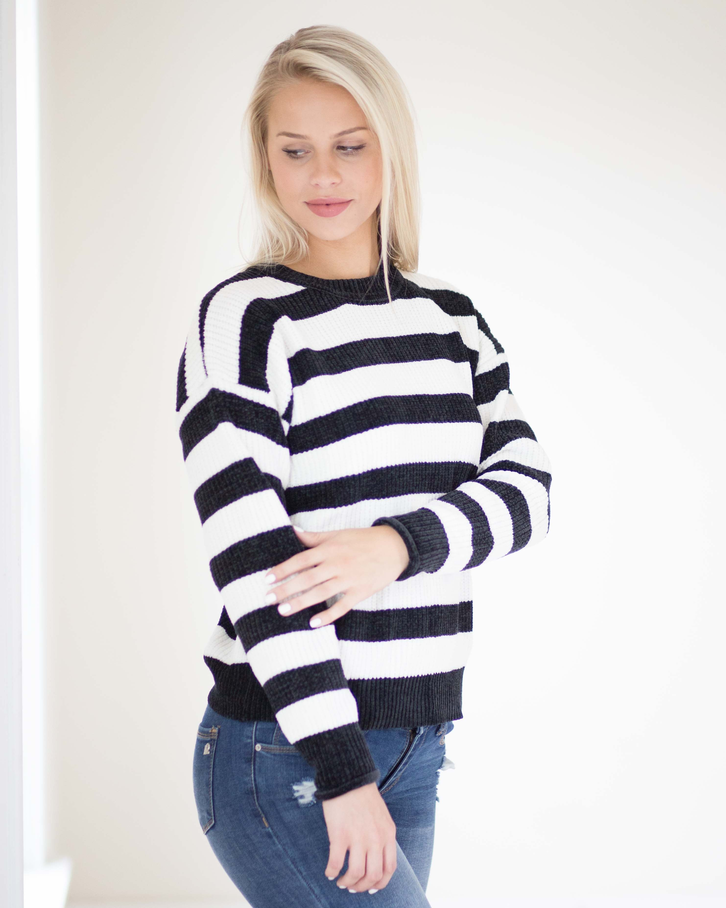 Tara Striped Sweater