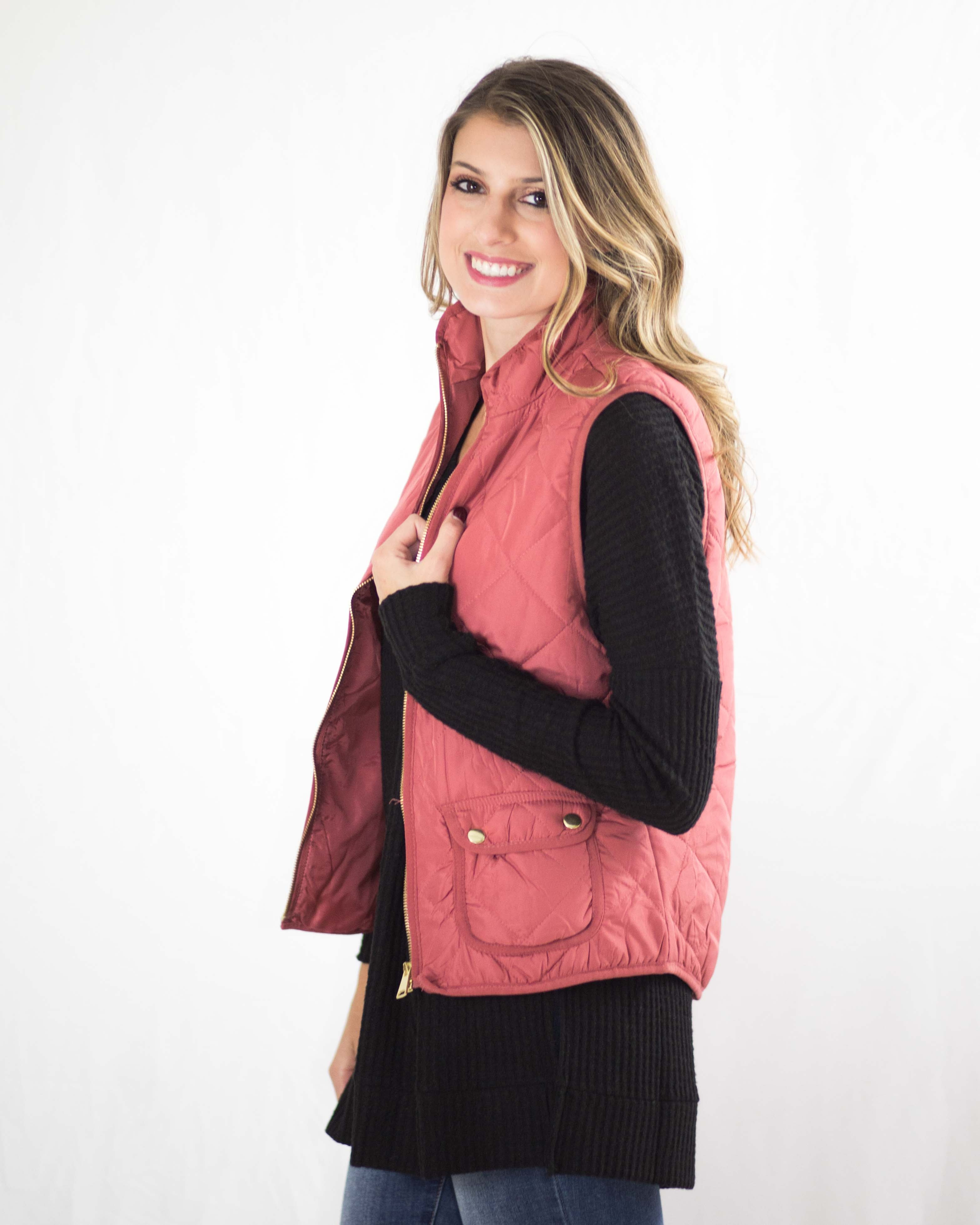 Kaylee Quilted Vest