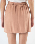 Piper Pocketed Waist Tie Skirt