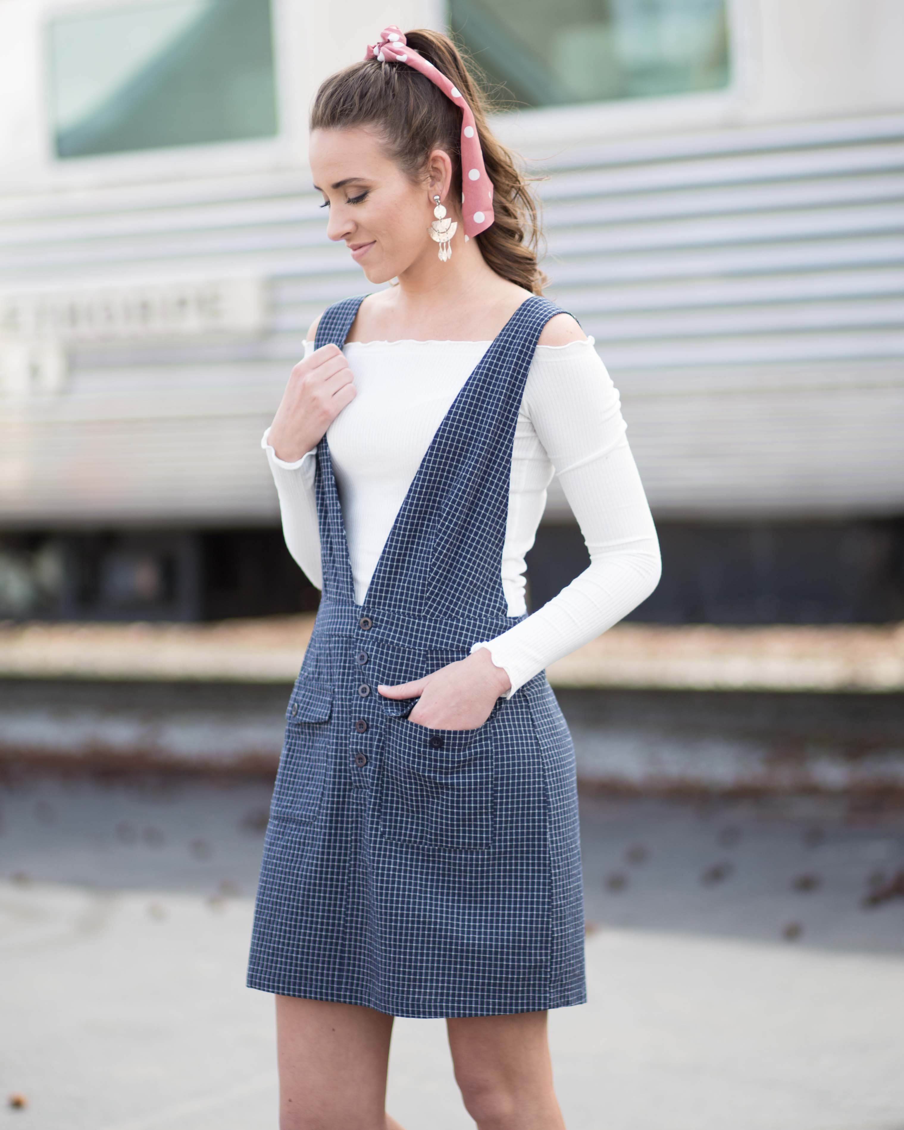 Cadance Overall Dress