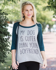 """My Dog Is Cuter Than Your Boyfriend"" Top 
