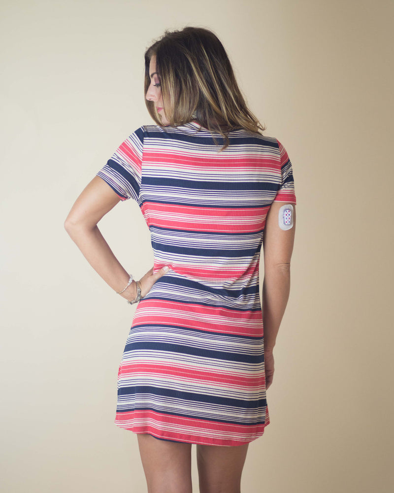 Elsie Mixed Stripe Dress