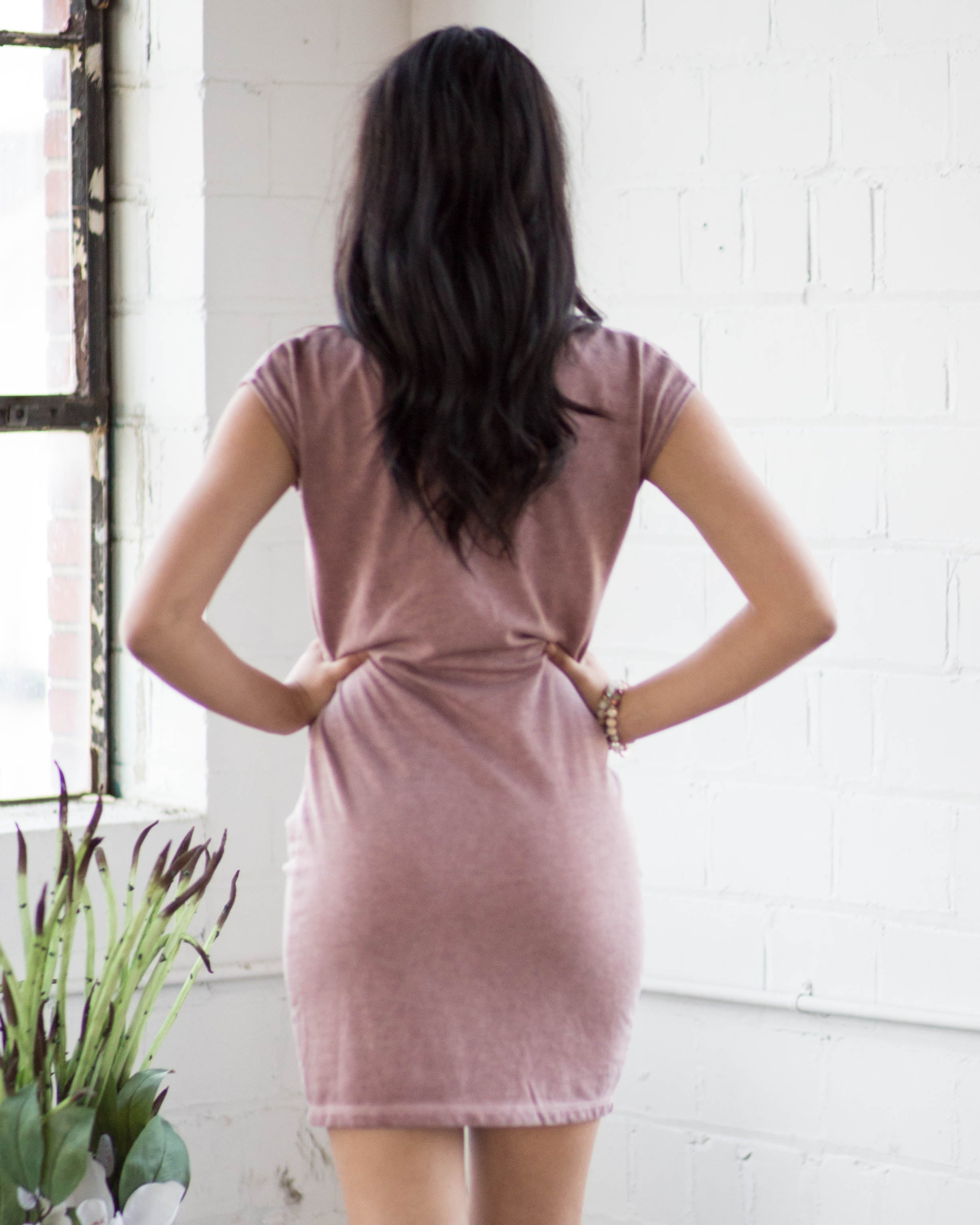 Boat Neck Essential Dress | Rose & Remington