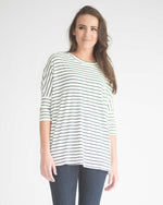 Hally Striped Top