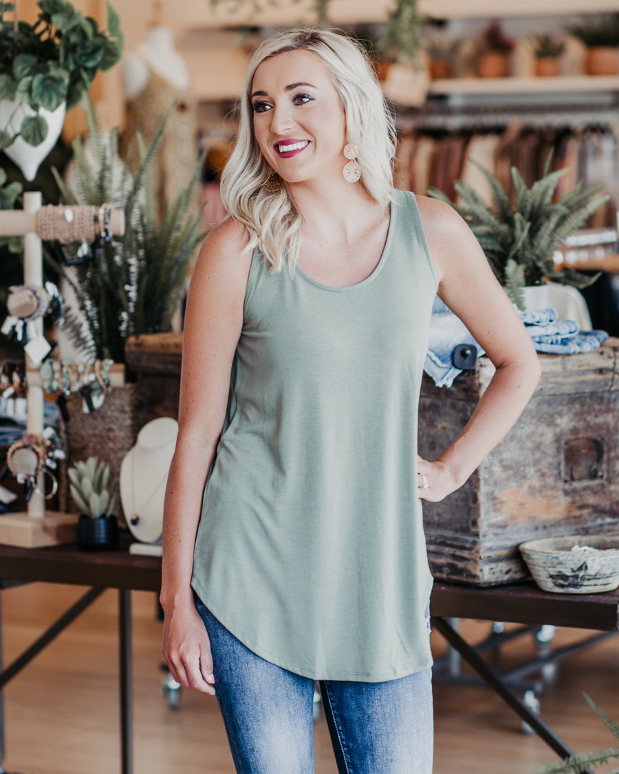 Jules Soft Touch Sleeveless Top