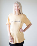 """Maybe She's A Wildflower"" Tunic Tee 