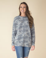 Soft Touch Camo Print Top