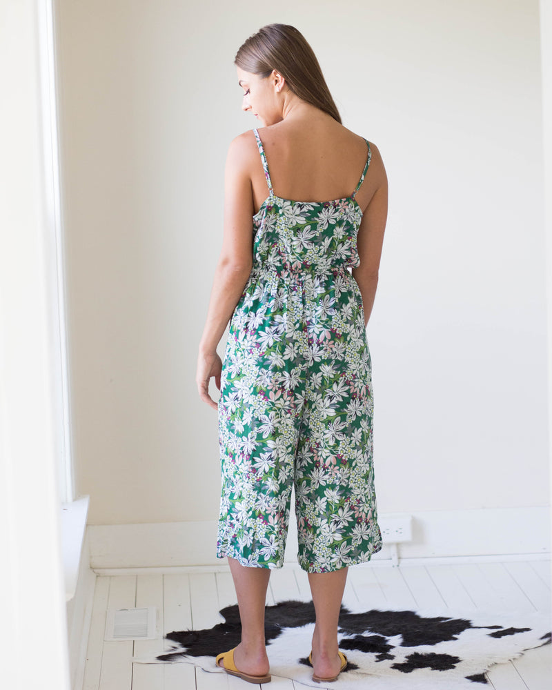 Zinnia Capri Jumpsuit | Rose & Remington