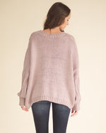 Megan Cable Knit Sweater