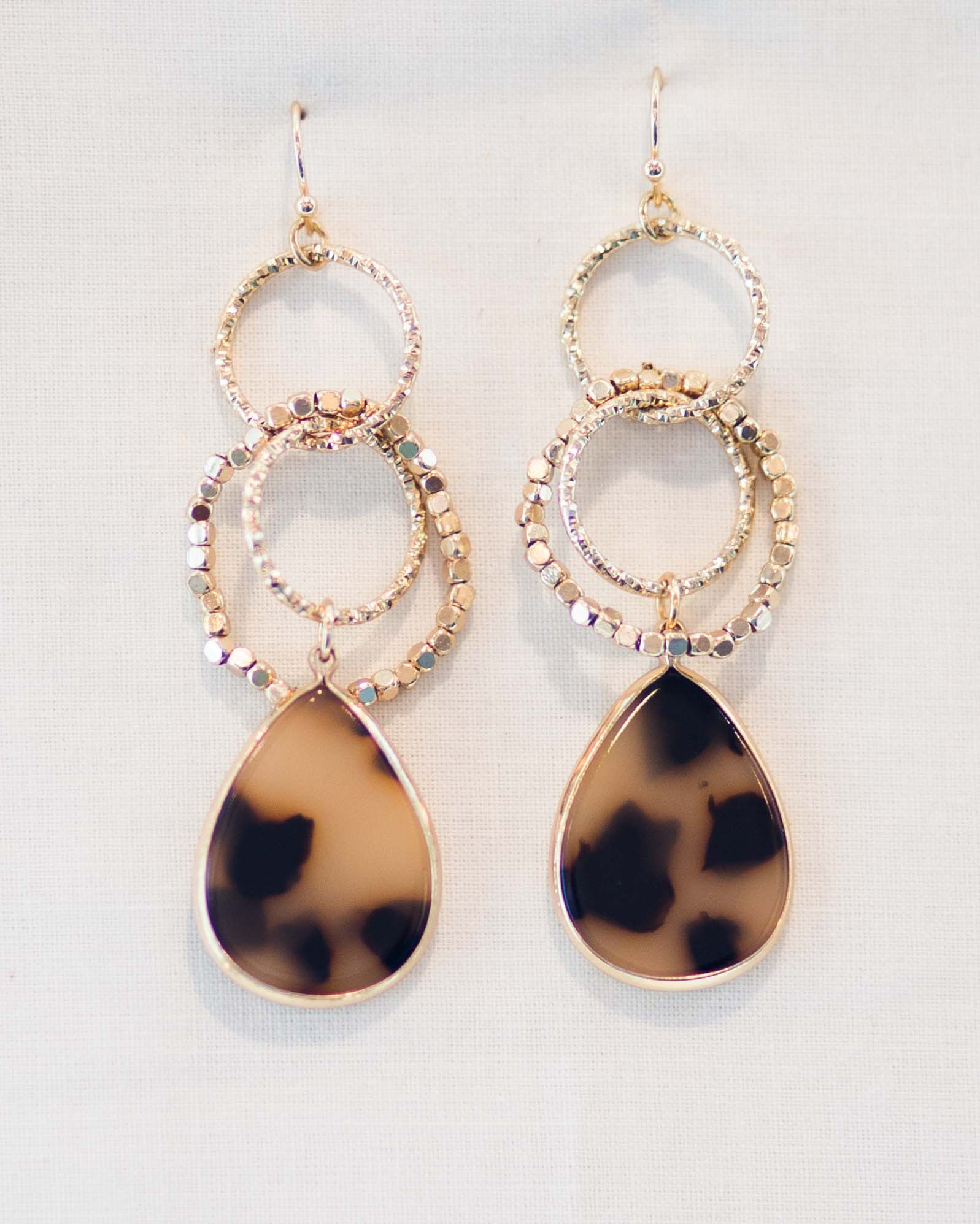 Elena Beaded Teardrop Earrings | Rose & Remington